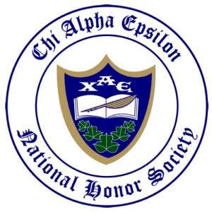 Chi Alpha Epsilon Honor Society